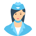 Chat User - Flight Ticket Attendent's image in Conversation - Booking Ticket Ticket Available
